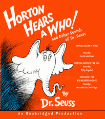 Horton Hears a Who and Other Sounds of Dr. Seuss Cover