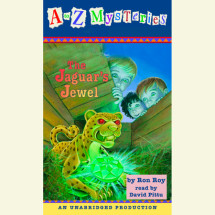 A to Z Mysteries: The Jaguar's Jewel Cover