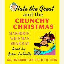 Nate the Great and the Crunchy Christmas Cover