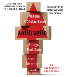 Antifragile: Things That Gain from Disorder Cover