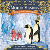 Magic Tree House #40: Eve of the Emperor Penguin Cover