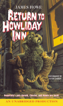 Bunnicula: Return to Howliday Inn Cover
