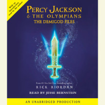 Percy Jackson: The Demigod Files Cover