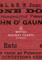 British Railway Tickets Cover