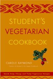 Student's Vegetarian Cookbook, Revised Cover