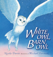 White Owl, Barn Owl Cover