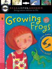 Growing Frogs with Audio, Peggable Cover