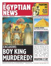 History News: The Egyptian News Cover