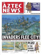 History News: The Aztec News Cover