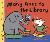 Maisy Goes to the Library Cover