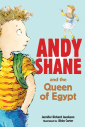 Andy Shane and the Queen of Egypt Cover
