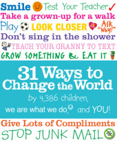 31 Ways to Change the World Cover