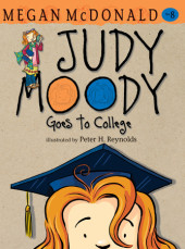 Judy Moody Goes to College (Book #8) Cover