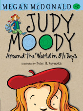 Judy Moody: Around the World in 8 1/2 Days (Book #7) Cover