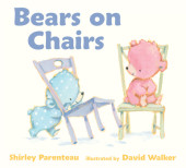 Bears on Chairs Cover