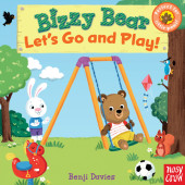 Bizzy Bear: Let's Go and Play Cover