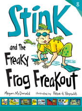 Stink and the Freaky Frog Freakout (Book #8) Cover