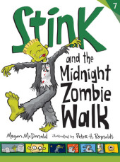 Stink and the Midnight Zombie Walk (Book #7) Cover