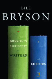 Bryson's Dictionary for Writers and Editors Cover