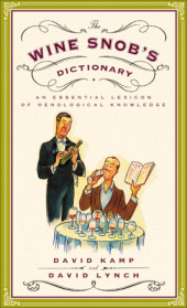 The Wine Snob's Dictionary Cover