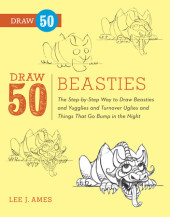 Draw 50 Beasties Cover