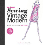 BurdaStyle Sewing Vintage Modern Cover