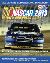 The Official Nascar 2013 Preview and Press Guide Cover