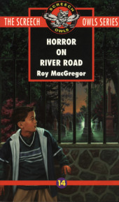 Horror on River Road (#14) Cover