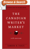 The Canadian Writer's Market, 17th Edition