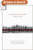 Canadian Poetry 1920 to 1960