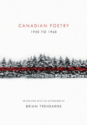 Canadian Poetry 1920 to 1960 Cover