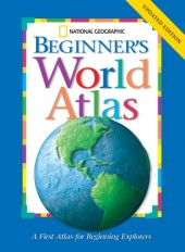 National Geographic Beginners World Atlas Updated Edition Cover