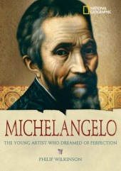 World History Biographies: Michelangelo Cover