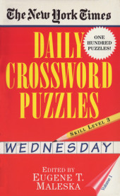 New York Times Daily Crossword Puzzles (Wednesday), Volume I Cover