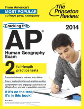Cracking the AP Human Geography Exam, 2014 Edition Cover