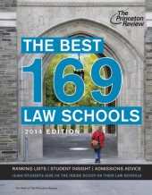 The Best 168 Law Schools, 2014 Edition Cover