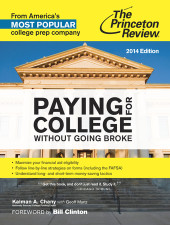 Paying for College Without Going Broke, 2014 Edition Cover