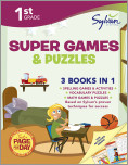 First Grade Super Games & Puzzles (Sylvan Super Workbooks)