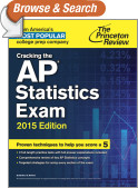 Cracking the AP Statistics Exam, 2015 Edition