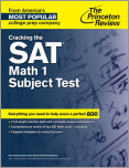 Cracking the SAT Math 1 Subject Test