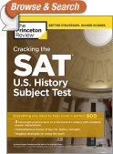 Cracking the SAT U.S. History Subject Test