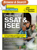 Cracking the SSAT & ISEE, 2016 Edition
