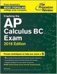 Cracking the AP Calculus BC Exam, 2016 Edition