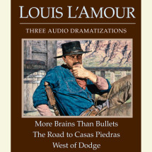 More Brains Than Bullets/The Road to Casas Piedras/West of Dodge Cover