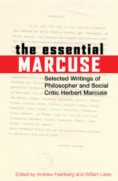 The Essential Marcuse Cover