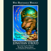 The Bartimaeus Trilogy, Book Three: Ptolemy's Gate Cover