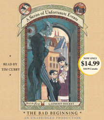 A Series of Unfortunate Events #1: The Bad Beginning Cover