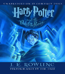 Harry Potter and the Order of the Phoenix Cover