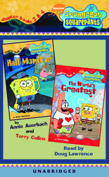 SpongeBob Squarepants: Chapter Books 3 & 4 Cover