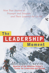 The Leadership Moment Cover